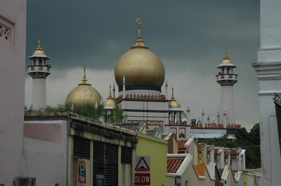 Sultan mosque, Arab Street, Singapore.