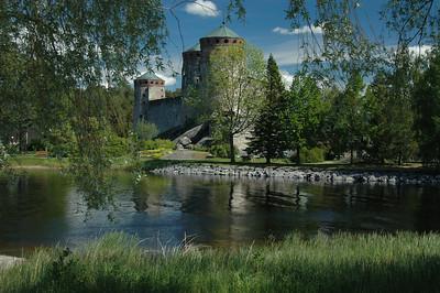 Castle at Savonlinna, Finland.