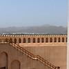 Ramparts of the Nizwa fort, Nizwa, Oman.
