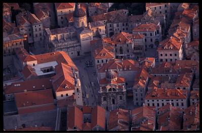 Old town center, Dubrovnik, Croatia.