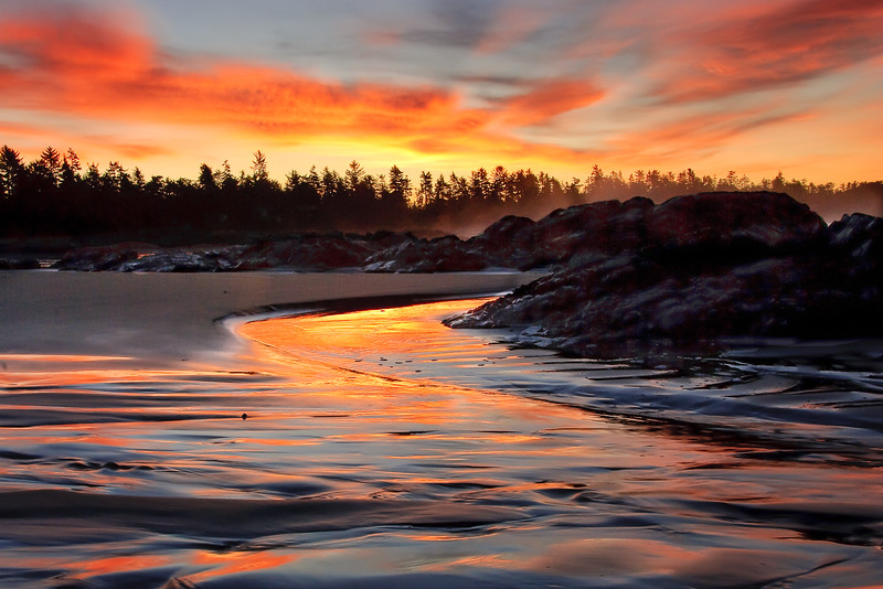 Dawn Light - West Coast of Vancouver Island.