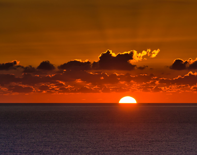 Tropical Sunset. Puerto Vallarta, Mexico