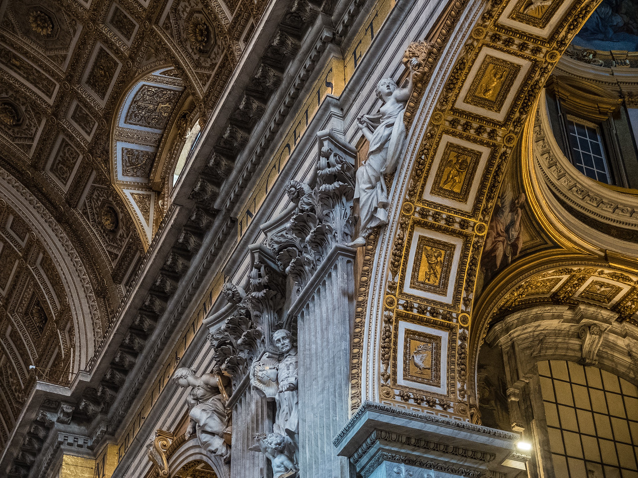 St. Peter's Basilica, Vatican, Rome, Italy