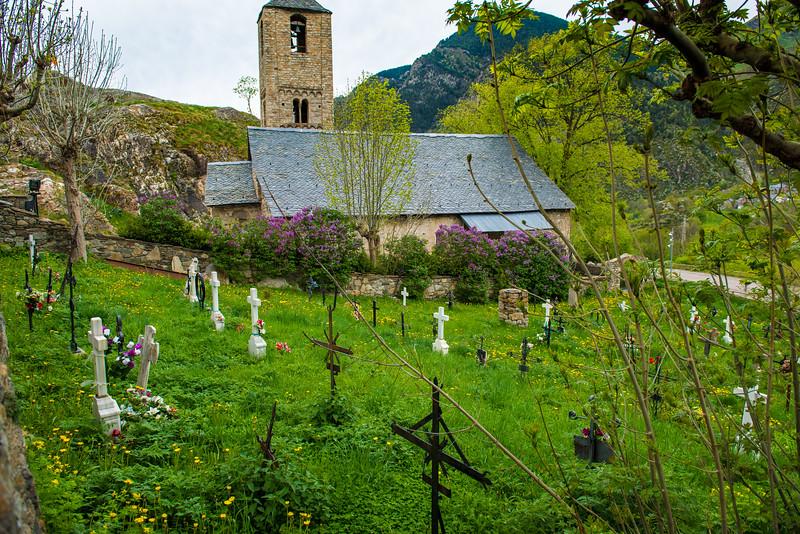 Village Churchyard, Lleida, Spain