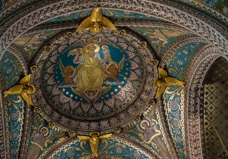 Notre Dame Basilica, Lyon, France