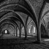 Storage cellars, Fountains Abbey, England