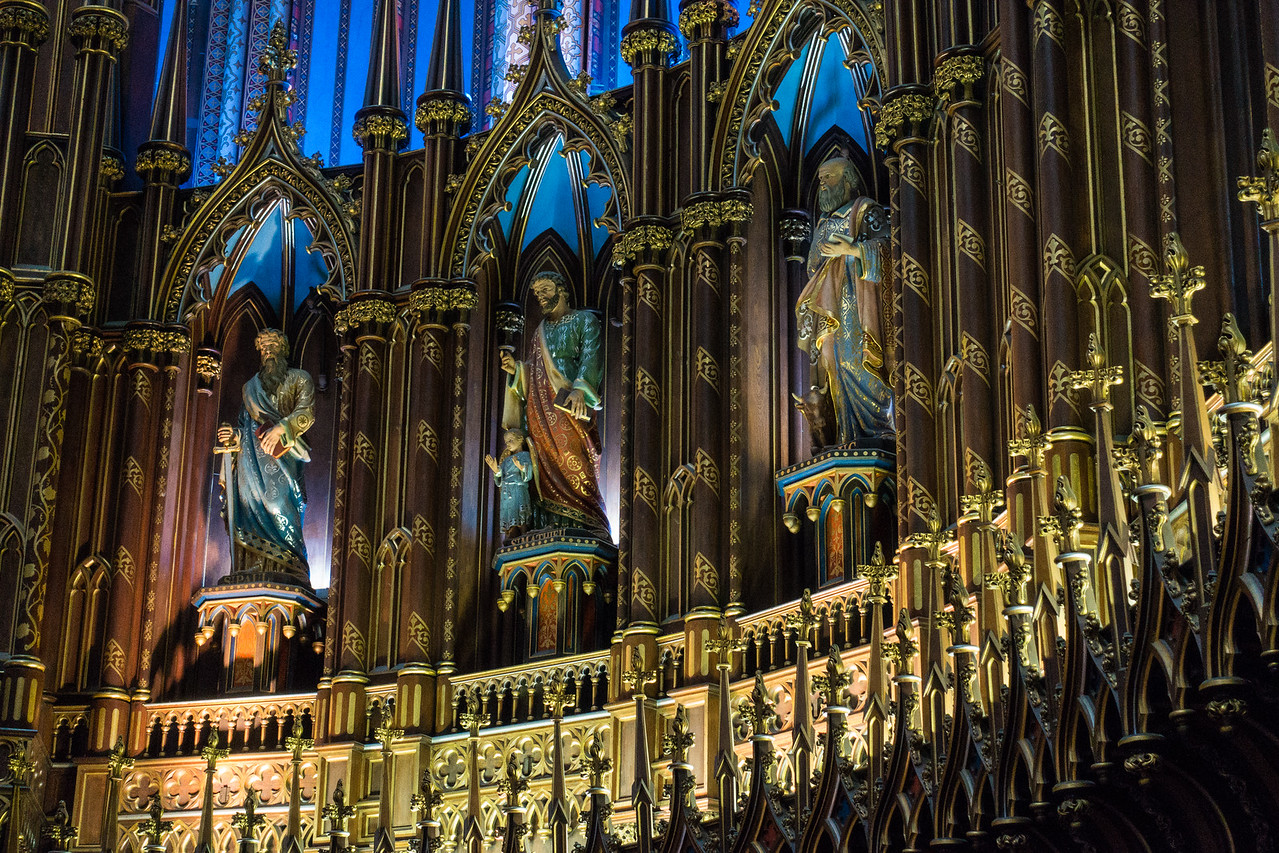 Cathedral of Notre Dame, Montreal, Canada