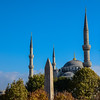 Spires of the Hagia Sophia, Istanbul, Turkey