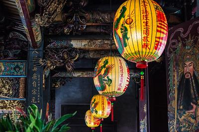 Baoan Temple, Taipei, Taiwan
