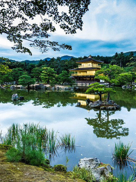 Temple of the Golden Pavillion, Kyoto, Japan