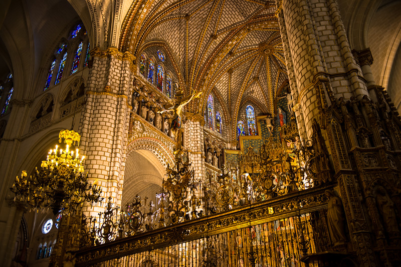 Altar, Cathedral of Toledo, Spain