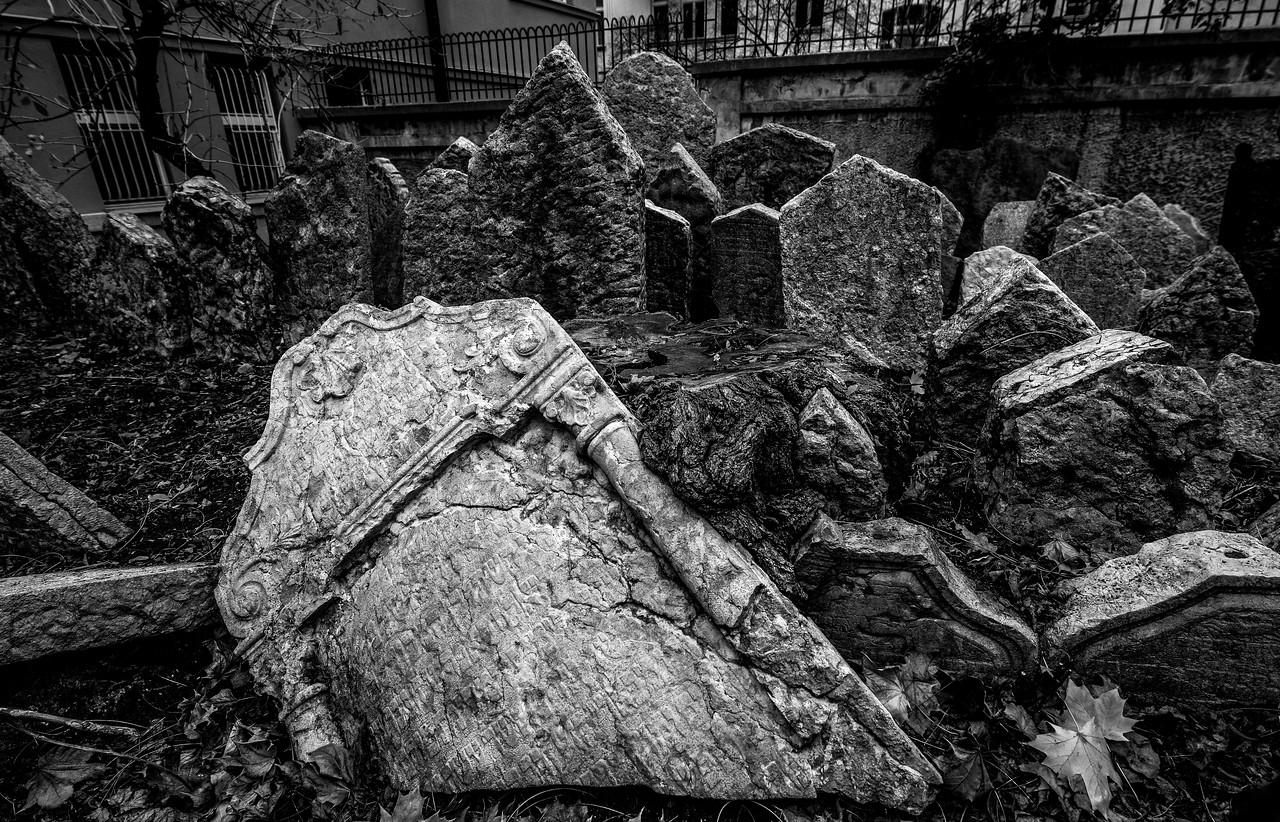 Jewish Cemetery, Prague, Czech Republic