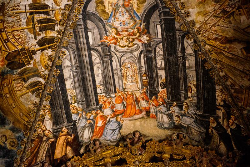 Fresco, Chapel of Atotonilco, Mexico