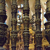 Bars, choir of the Cathedral of Burgos, Spain