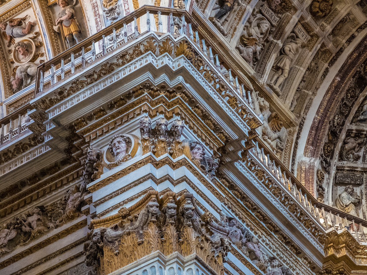 Church of San Geronimo, Granada, Spain