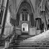 Chapter house stairs, Wells Cathedral, England