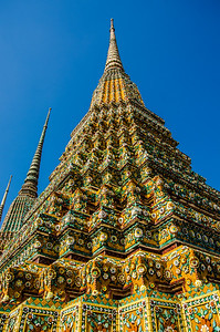 Temple tower, Bangkok, Turkey
