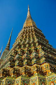 Temple tower, Bangkok, Turkey