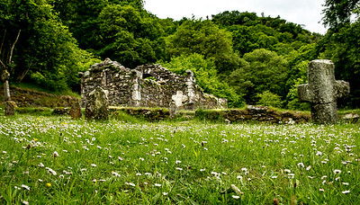 Reefert Church, Glendalough, Ireland