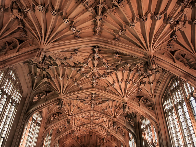 Divinity school ceiling, Oxford University, England