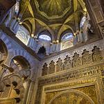 The Mihrab, the Mezquita, C�rdoba, Spain