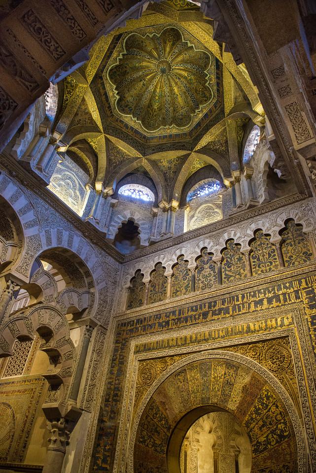 The Mihrab, the Mezquita, Córdoba, Spain