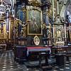 Pope John Paul memorial, Basilica of Krakow, Poland