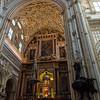 Christian altar, The Mezquita, Córdoba, Spain