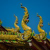 Temple roof, Chiang Mai, Thailand