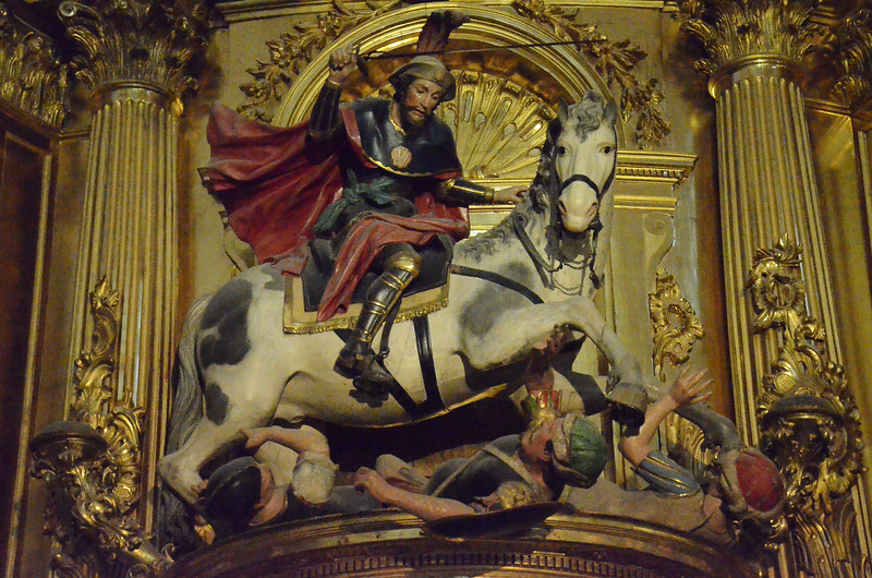 Santiago the Moor Killer, Burgos Cathedral, Spain