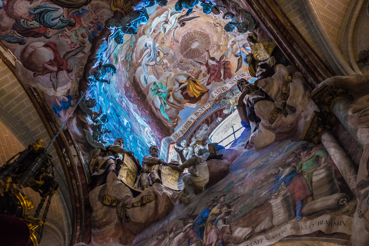 The Transparente, Cathedral of Toledo, Spain