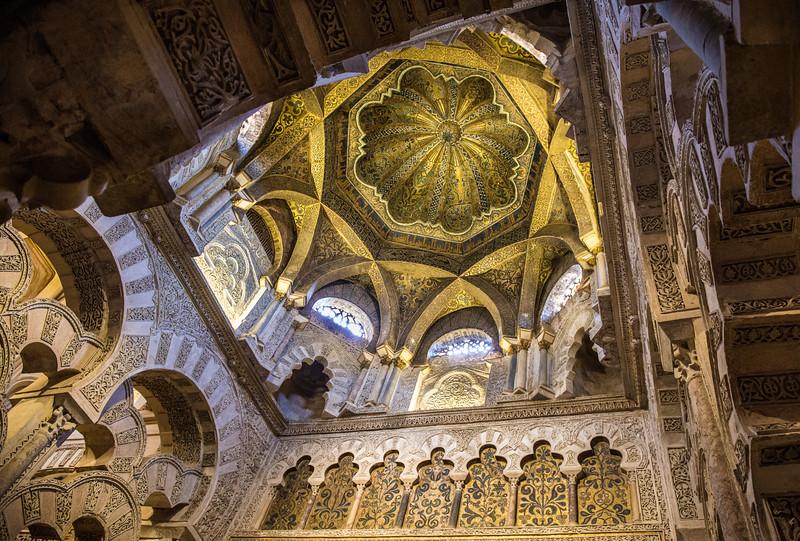Mihrab, the Mezquita, Córdoba, Spain