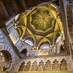 Mihrab, the Mezquita, C�rdoba, Spain