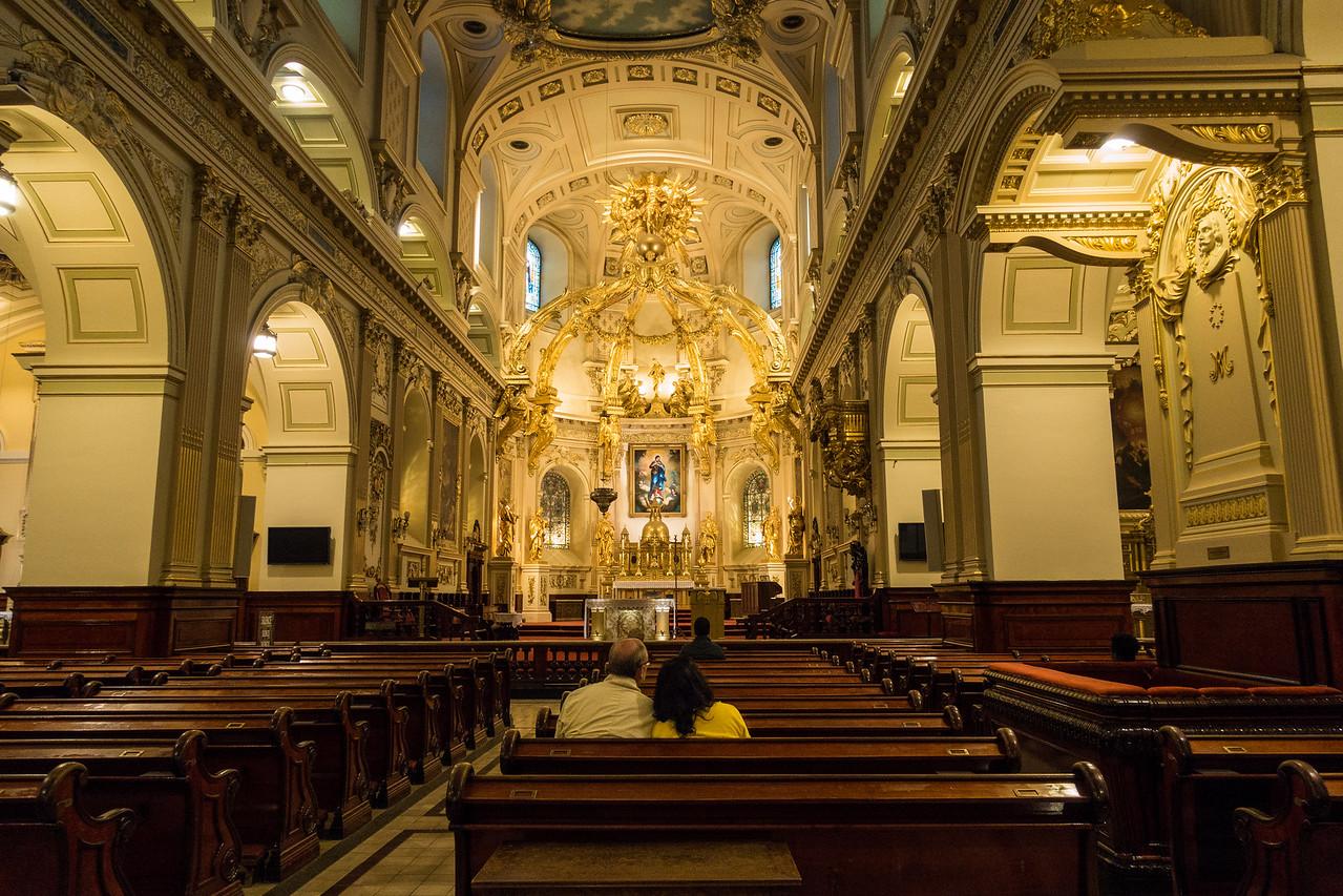 Basilica of Notre Dame, Quebec, Canada