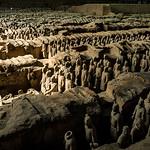 Terra Cotta Army, Xian, China