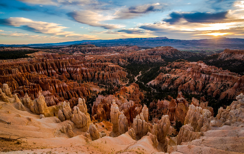 Sunset, Inspiration Point, Bryce Canyon National Park, Utah