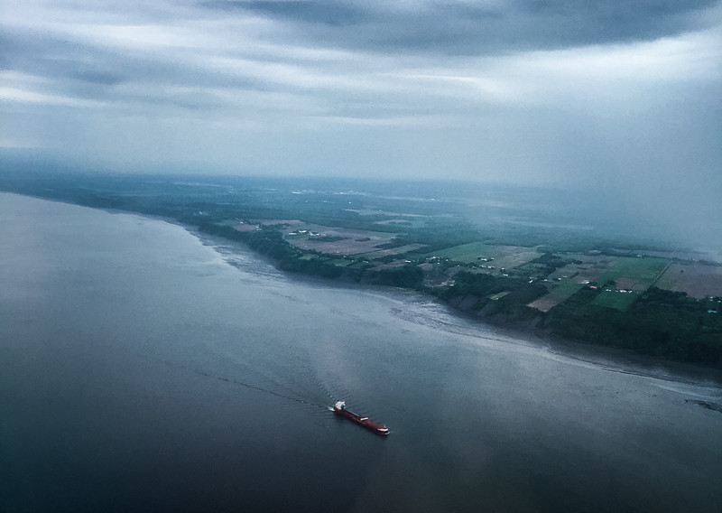 Saint Lawrence Seaway, Quebec, Canada