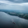 Saint Lawrence Seaway, Quebec, Canada