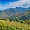 Pyrenees Mountains, near St. Jean Pied du Port, France, the start of the Camino de Santiago