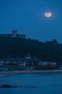 Moonrise, Santander, Spain