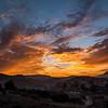 Sunset, Petra, Jordan