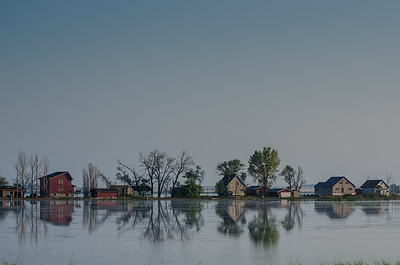Flooded Homes, Webster, South Dakota