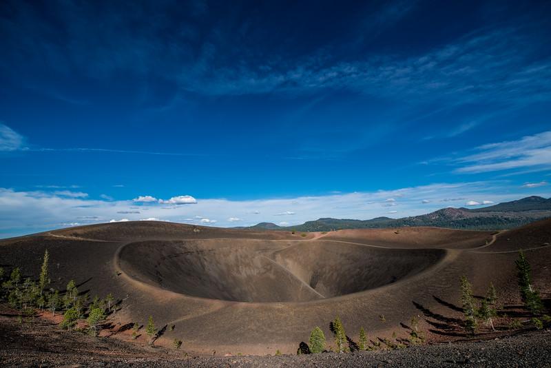 Crater, Cinder Dome, Lassen Volcanic National Park, California