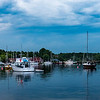 Harbour, Baddeck, Nova Scotia, Canada