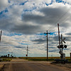 Railroad Crossing, Western Kansas