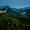 The Great Wall of China, near Badaling
