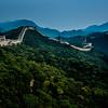 The Great Wall of China, near Badaling