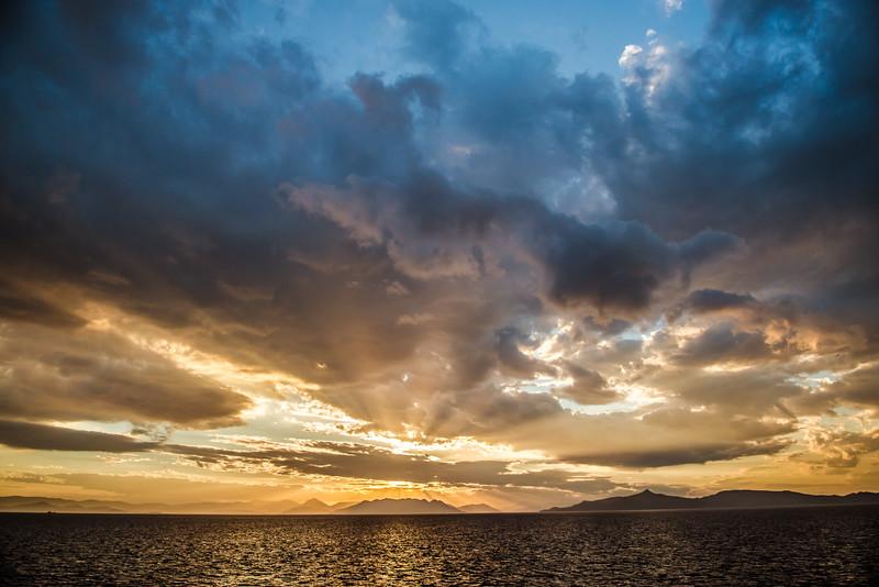 Paros Island Ferry, Aegean Sea near Athens, Greece
