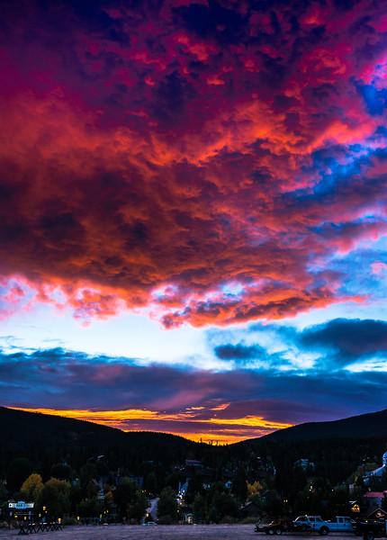 Sunrise, Breckenridge, Colorado