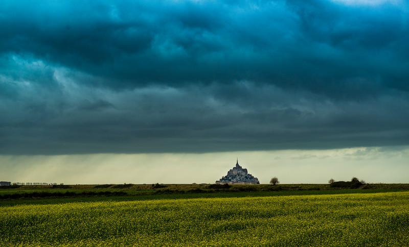 Mont Saint Michele, Normandy, France